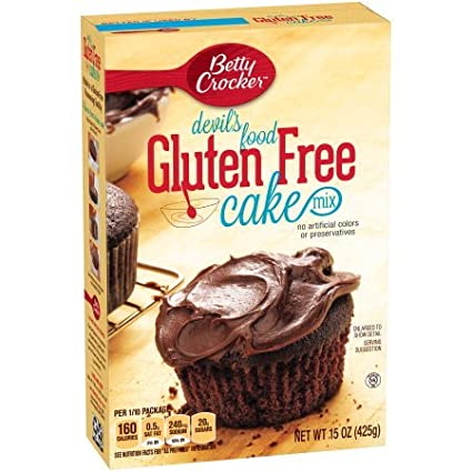 Betty Crocker sin gluten Cake Mix del diablo Alimentos 15.0 ...