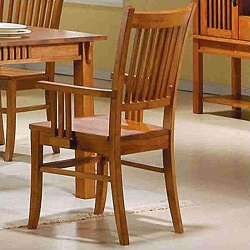 wood armchair - 1