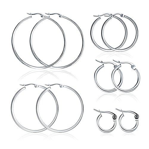 Miraculous Garden Stainless Earrings Girls 10mm 50mm product image
