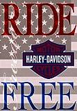 Russ Berrie 644580 Harley-Davidson Ride Free Garden Flag