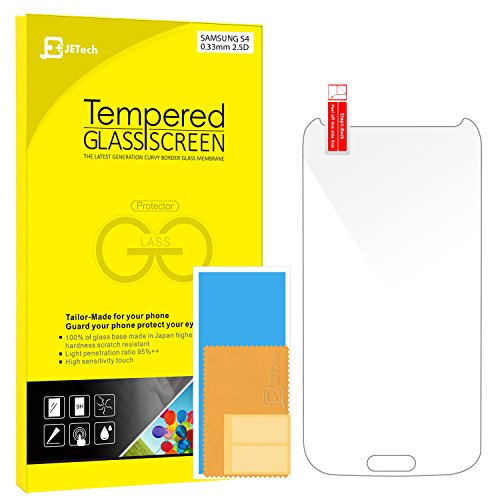 Tempered Glass Screen Protector for Samsung Galaxy S4 - 3
