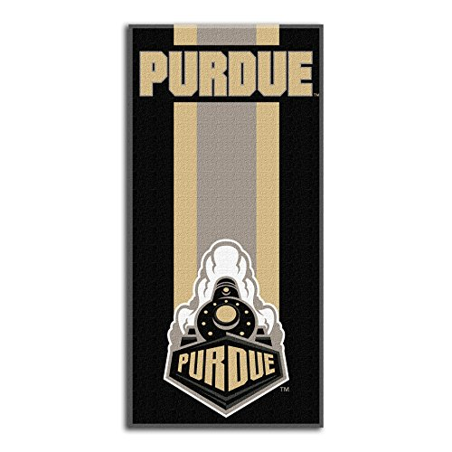 Northwest Ncaa Purdue Boilermakers  Beach Towel   30 X 60 Inch