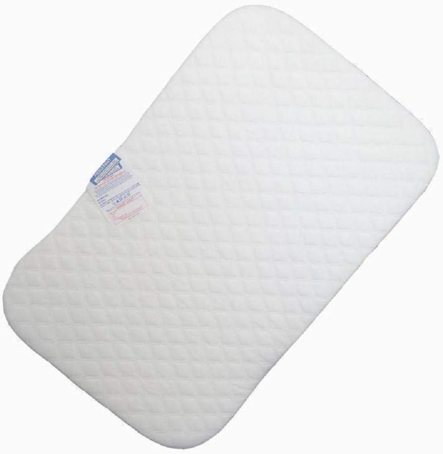 Colch/ón de microfibra hipoalerg/énico de repuesto para colch/ón de cuna Next2Me de 4 cm de grosor y acolchado,