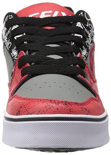Heelys Heren Beweging Plus Mode Sneaker Rood / Zwart / Grijs / Graphics