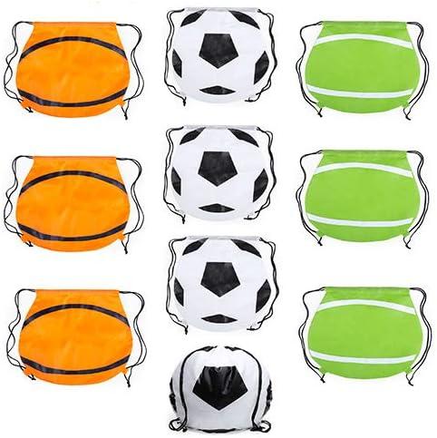 Partituki Lote de 10 Mochilas con Forma de Pelota (Futbol ...
