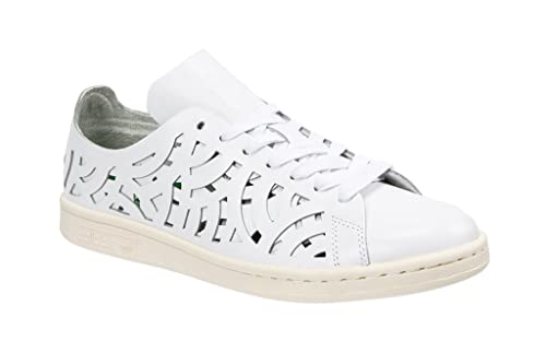 adidas Stan Smith, Zapatillas para Hombre, Blanco Chalk White, 42 2/3 EU: Amazon.es: Zapatos y complementos