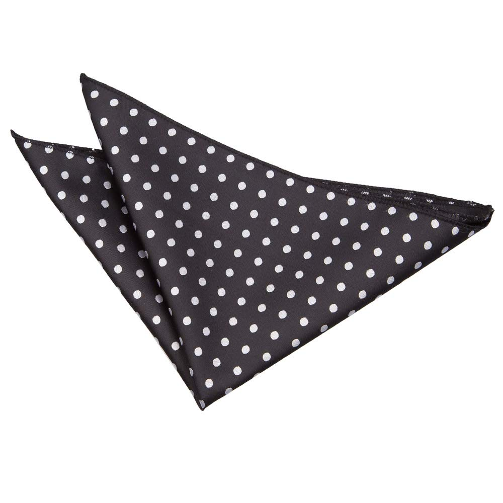DQT Men Polka Dot Patterned Dotted Formal Casual Business Party Handkerchief Pocket Square Hanky