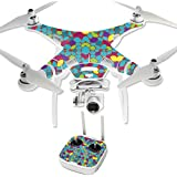 MightySkins Protective Vinyl Skin Decal for DJI Phantom 3 Professional Quadcopter Drone wrap cover sticker skins Bright Stones