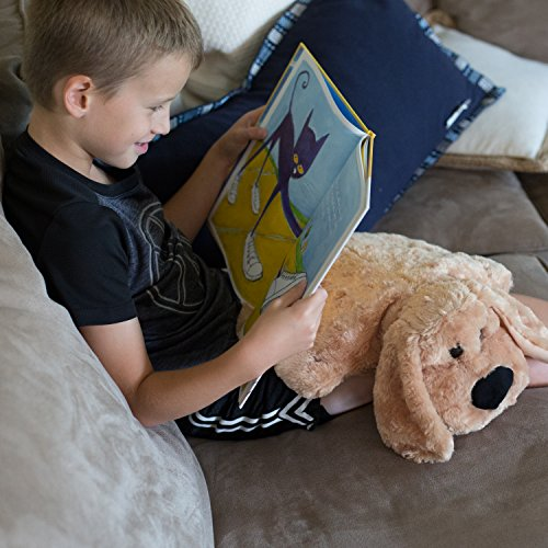 Weighted Lap Pad for Kids by Sootheze - 5 lbs Weighted Blanket - Washable - Great for Sensory Issues Such as ADHD, Autism, Anxiety, Stress - Drooper Sr. Stuffed Animal by Sootheze (Image #7)