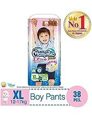 MamyPoko Air Fit Pants Boy, XL, 38ct (Packaing may vary)