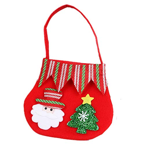3-piece Christmas portable gift bag, school classroom and