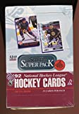 1992 Score Superer Pack NHL Card Hockey