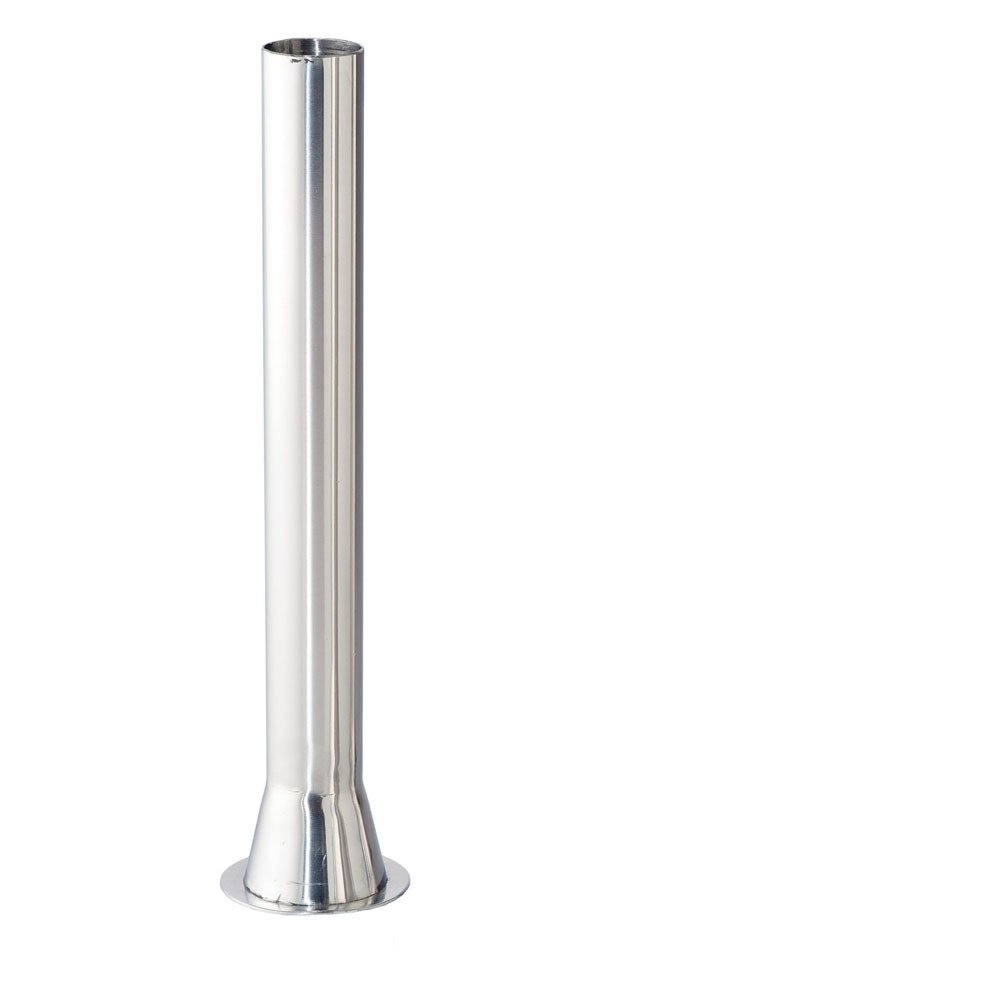 Stuffing Tube - 1inch OD Stainless Steel 2inch Base