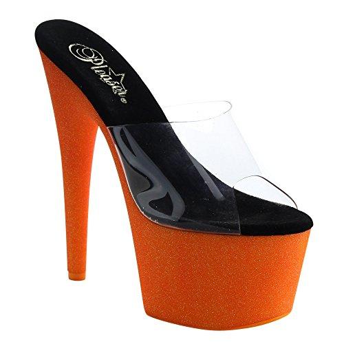 Pleaser Sandales Orange Femme 701uvg Adore a6qp7