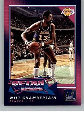Basketball NBA 2017-18 Donruss Retro Series  4 Wilt Chamberlain Lakers ebda65e54