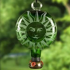 Sombrilla sol gota solar colibr alimentador verde verde for Sombrillas jardin amazon