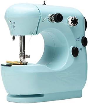 JJLL Mini máquina de coser for telas gruesas y de capas múltiples ...