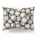 Society6 Baseballs Pillow Sham Standard (20'' x 26'') Set of 2