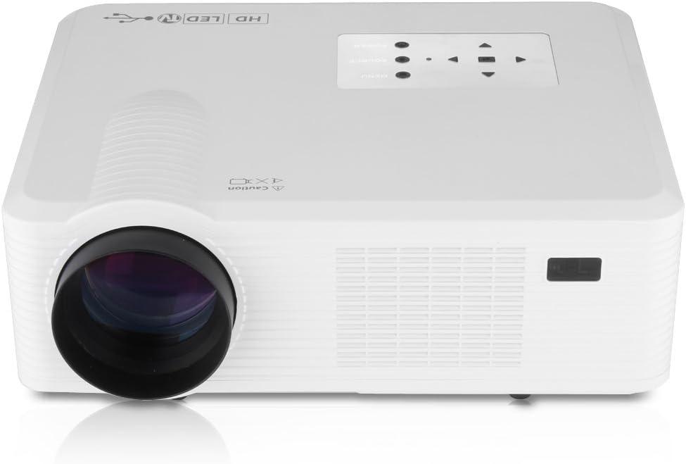 Excelvan CL740D Mini HD Proyector LED (800 X 480p, 2400 Lúmenes ...