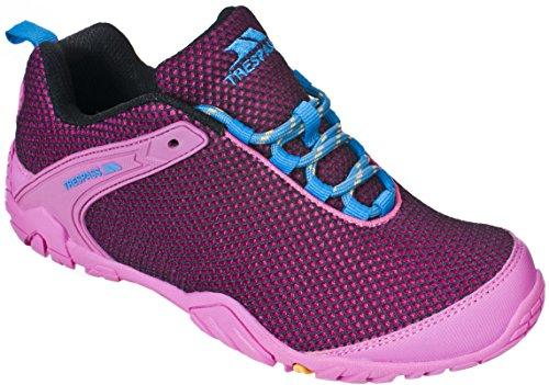 TrespassFlexiback - Zapatillas de Running Mujer Rosa - rosa (Fuchsia)