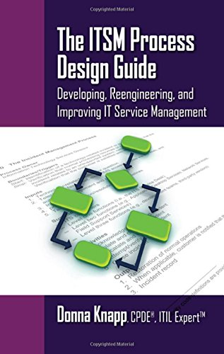 The ITSM Process Design Guide: Developing, Reengineering, and Improving IT Service Management by Brand: J. Ross Publishing, Inc.