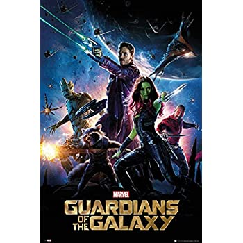 amazoncom guardians of the galaxy movie 24x36 poster
