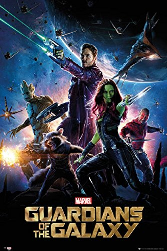 Guardians Of The Galaxy - Movie Poster 24 x 36