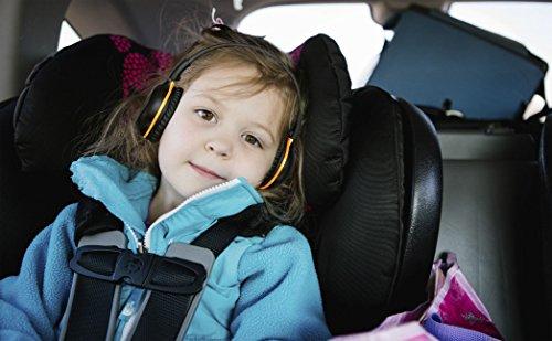 4 Pack of DVD Wireless Headphones, Car Kids Headphones, IR Headphones for Car Entertainment System, Wireless IR Headphones with Dual Channel by SIMOLIO (Image #5)