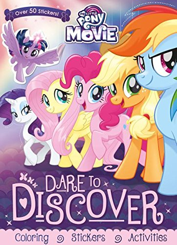 Download My Little Pony - the Movie Dare to Discover: Coloring, Stickers, Activities pdf