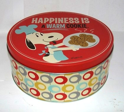 Hallmark Paj1112 Happiness Is a Warm Cookie Tin (Hallmark Cookie Jars)