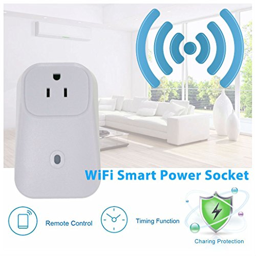 Remote Control Home WiFi Smart Power Socket Wireless Timer Switch Outlet US Plug from UNBRANDED*