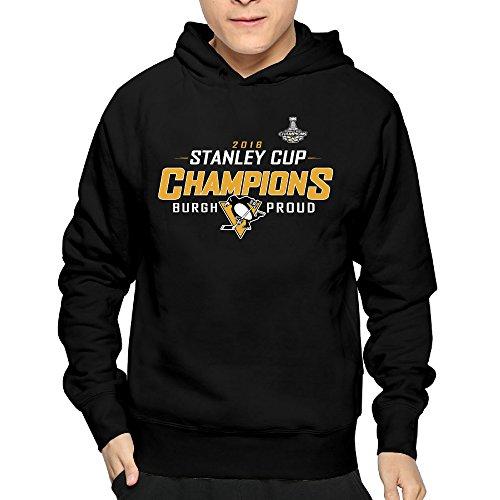 Pittsburgh Penguins 2016 Stanley Cup Champions Roster Mens' Sweatshirt No Fleece
