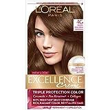 L'Oreal Paris Excellence Creme Hair Color, 4G Dark Golden Brown