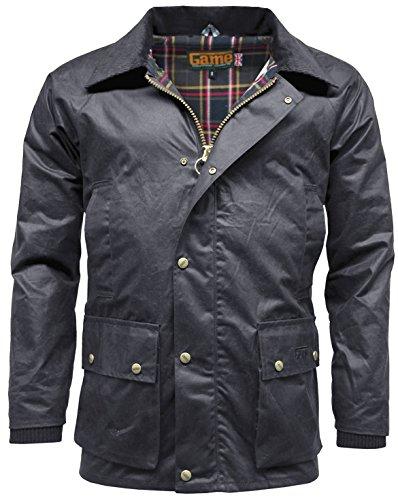 Game chaqueta desmontable Azul capucha con hombre Marino Barker para PPrqzwH
