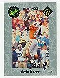 Alvin Harper (Football Card) 1991 Classic # 11