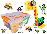 KoolToys | STEM Learning | Original 92 Piece Educational Construction Engineering Building Blocks...