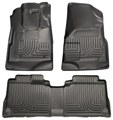 Husky Liners Front & 2nd Seat Floor Liners Fits 10-17 Equinox/Terrain