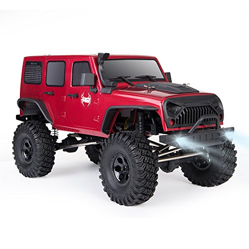 - RGT Rc Crawler 1:10 Scale 4wd RC Rock Cruiser EX86100 313mm Wheelbase Crawler Off Road Monster Truck RTR 4x4 Waterproof RC Car