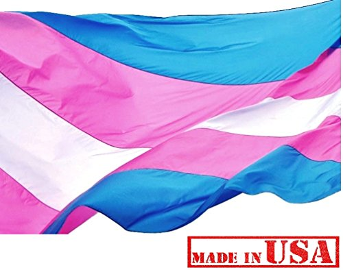 US Flag Factory 3'x5′ Transgender Pride Flag (Sewn Stripes) Outdoor SolarMax Nylon – Made in America (3'x5′) Review
