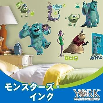 Amazon.co.jp: ディズニー Disney ウォールステッカー York