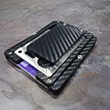 MultiWallet. Holstex Tactical Wallet Carbon Fiber Texture. Multi tool and money clip.