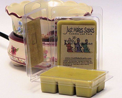 Just Makes Scents 2 Pack - Frankincense & Myrrh Scented Blended Soy Wax Melts
