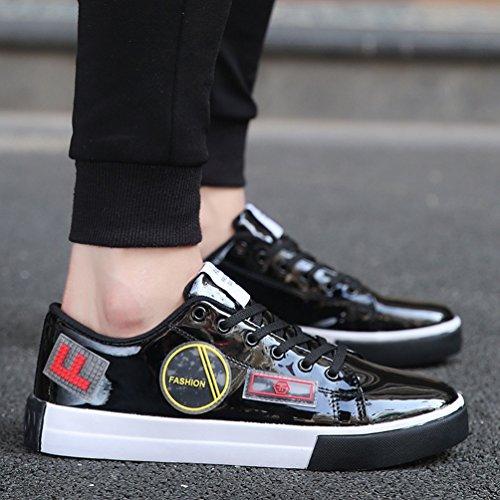 Sneaker Noir Décontractée Outdoor Chaussure Mode Chaussure Multisport Basket Lacet Homme a Antidérapant 39 46 Zq1F4TW