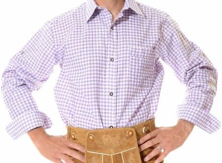 mrlederhosen - Camisa casual - Manga Larga - para hombre