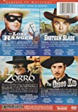 Classic TV Westerns - Over 22 Hours of The Lone Ranger, Shotgun Slade, Zorro and The Cisco Kid