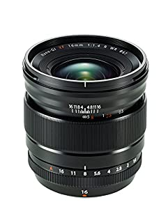 Fujinon XF16mmF1.4 R WR with Lens Hood/UV Filter