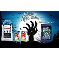 AtmosfearFX Ghostly Apparitions SD media card and HalloScreen Scream Bundle