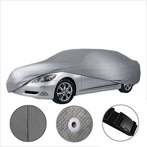 3 Layer Water Resistant Full Coverage Car Cover for Mercedes Benz SLK 350