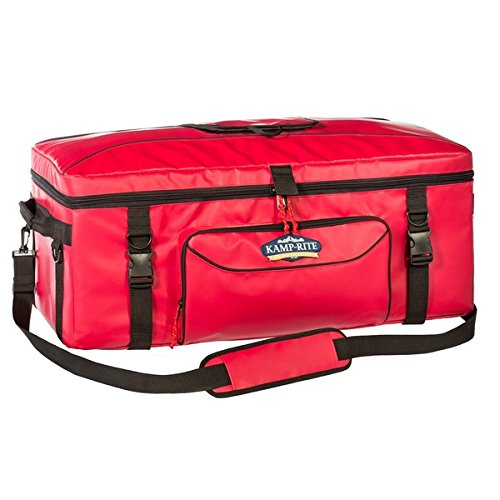 Kamp-Rite Durable, Large, Extreme Red 72 Can Kooler by Unknown