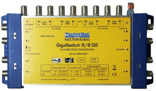 Vorschaubild TechniSat GigaSwitch 9/8 G2 Multischalter